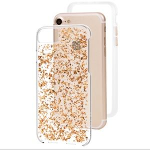 Rose Gold iPhone6 Sparkly Phone Case